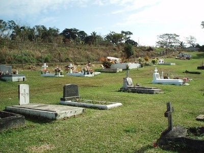 Van Port Vila Municipal Cemetery World War Two